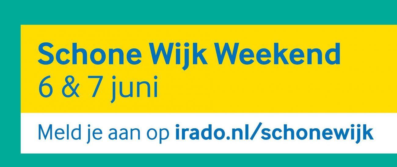 Schone Wijk Weekend: met de buren straat aan kant brengen