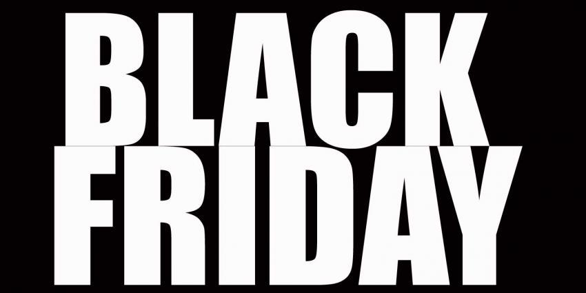 Houd effe op met je zwarte vrijdag