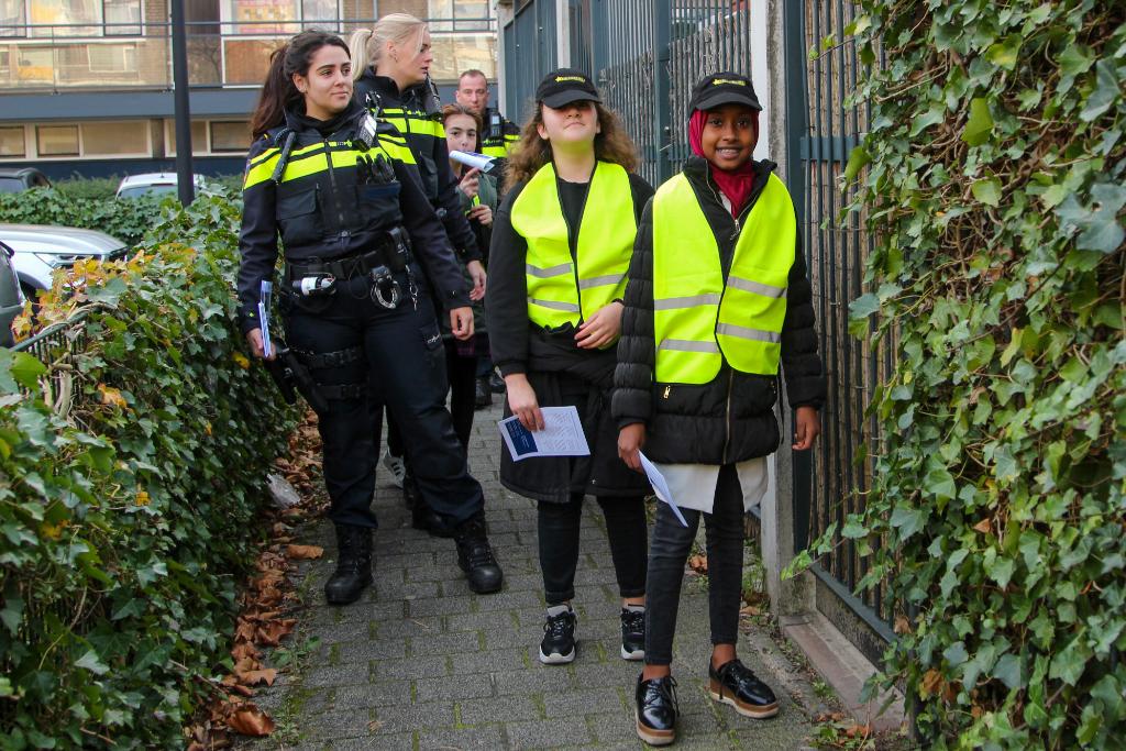 Politiekids opnieuw in actie in Schiedam