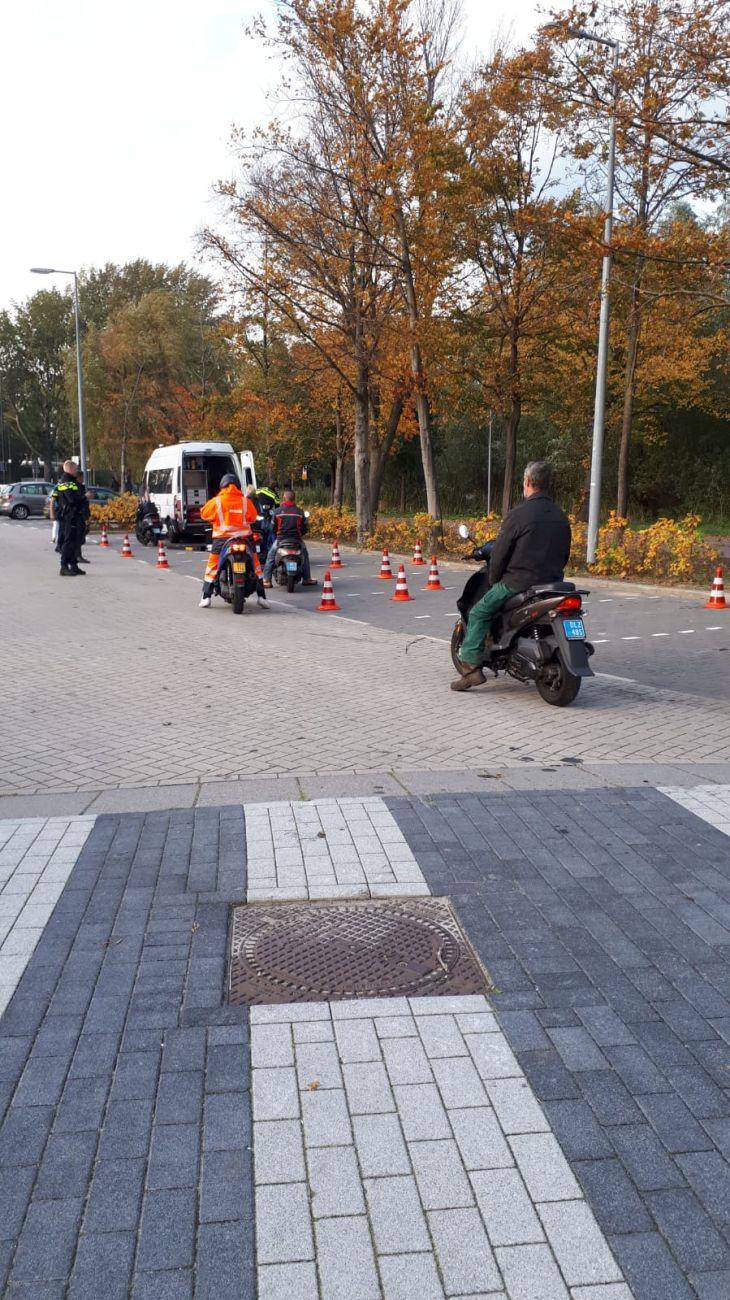 Politiecontroles in Groenoord