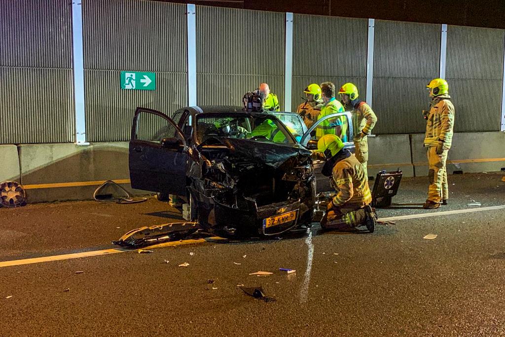 Mobiel Medisch Team naar ongeval op snelweg