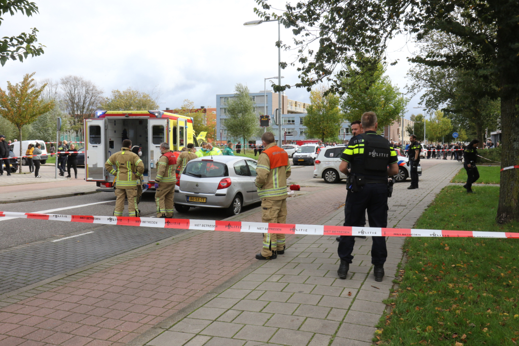 Schietpartij Troelstralaan in Bureau Rijnmond