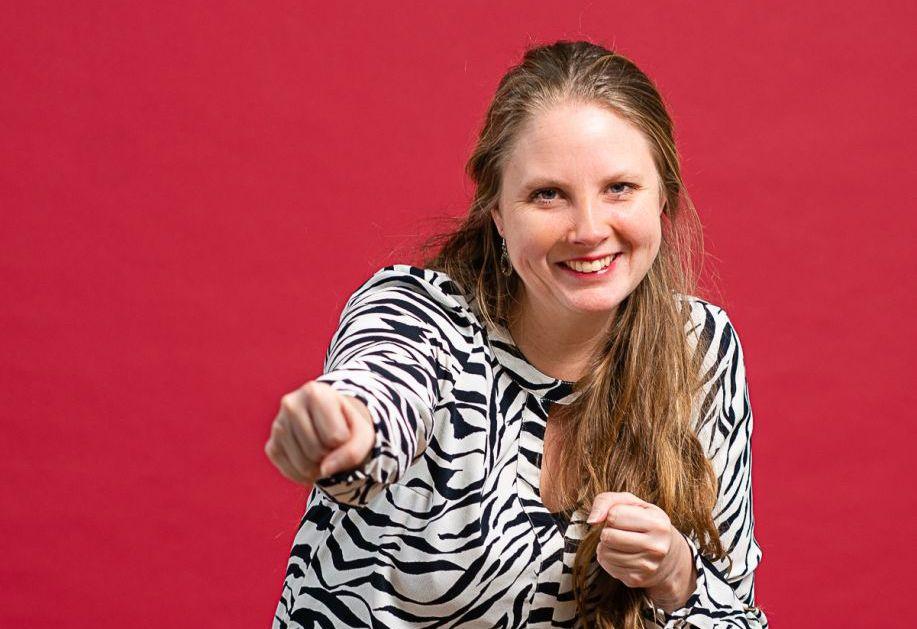 Claudia wil haar vrijwilligerswerk bij de Bibliotheek Schiedam niet missen