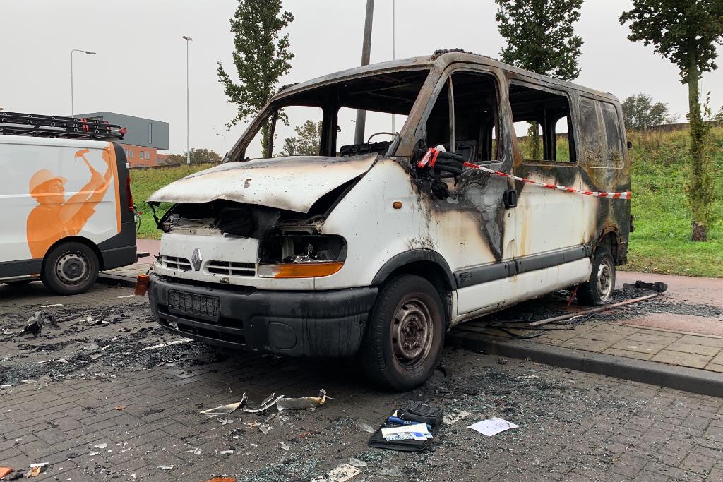 Weinig over van uitgebrande bus