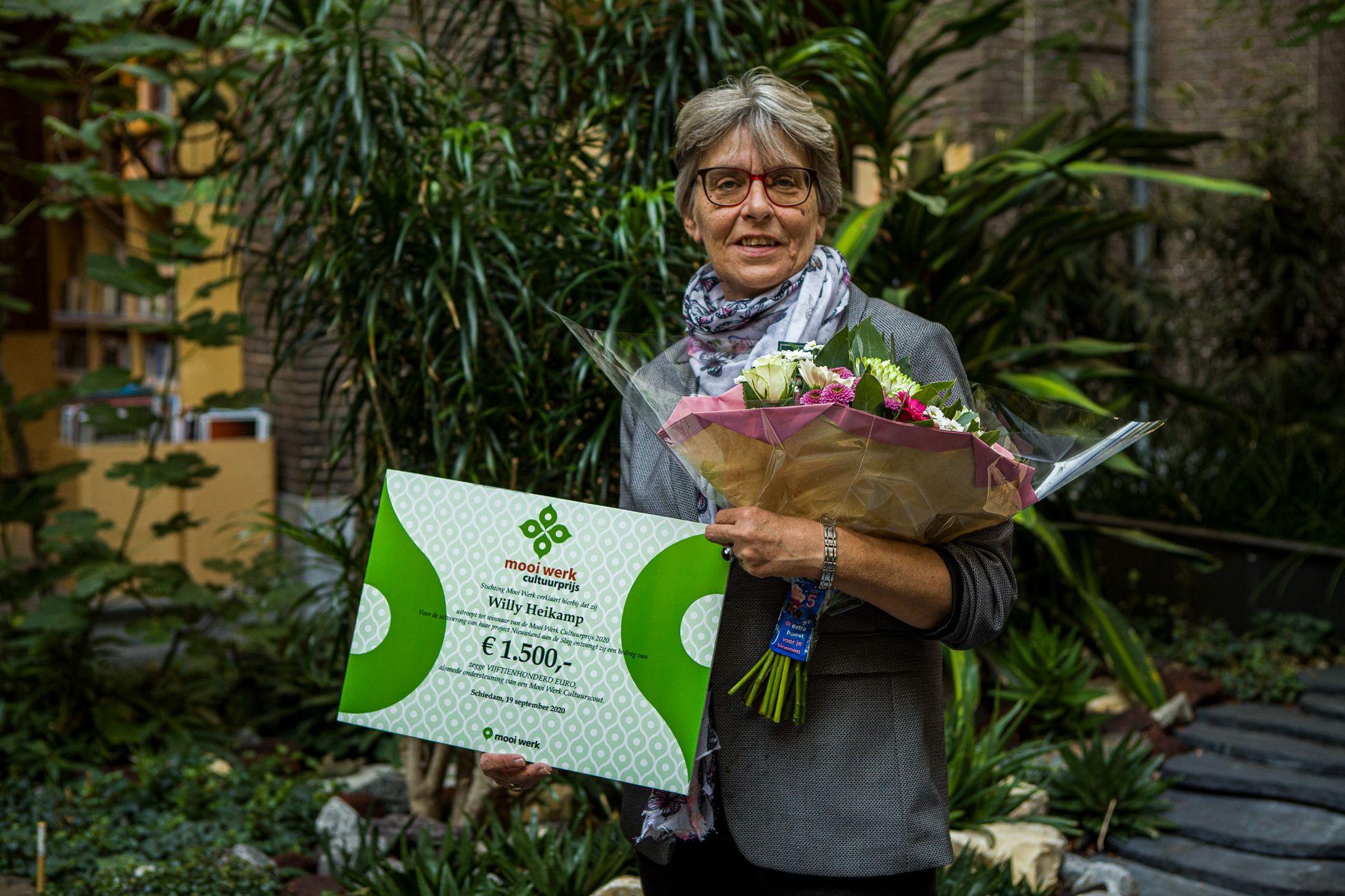 Mooi Werk Cultuurprijs naar Willy Heikamp