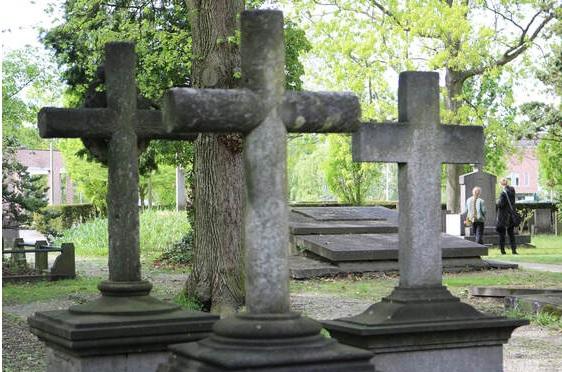 Het katholieke graf