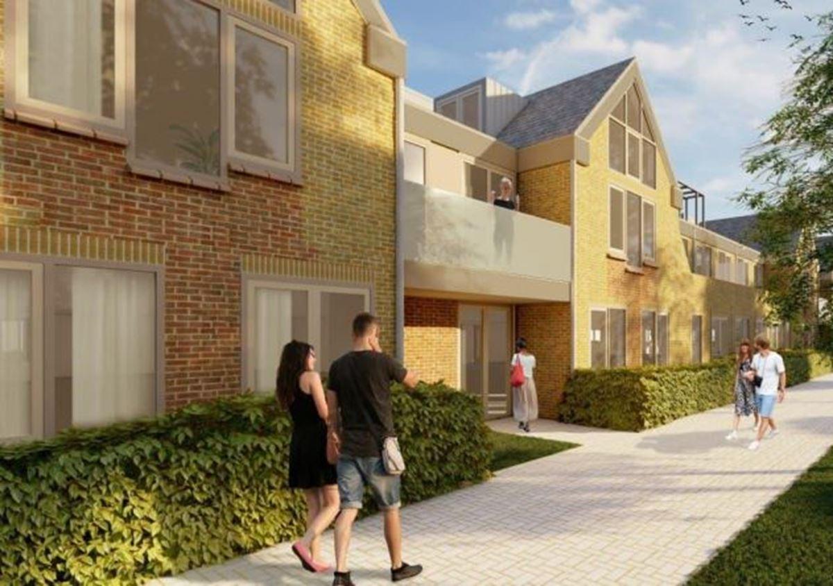 Nieuwe woningen aan Kerklaan worden verhuurd