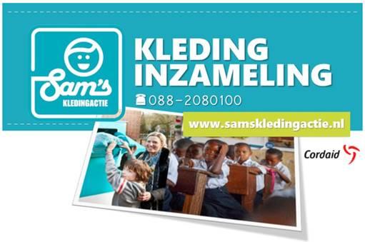 Voorjaarsactie Sam's Kledingactie bestemd voor Congo