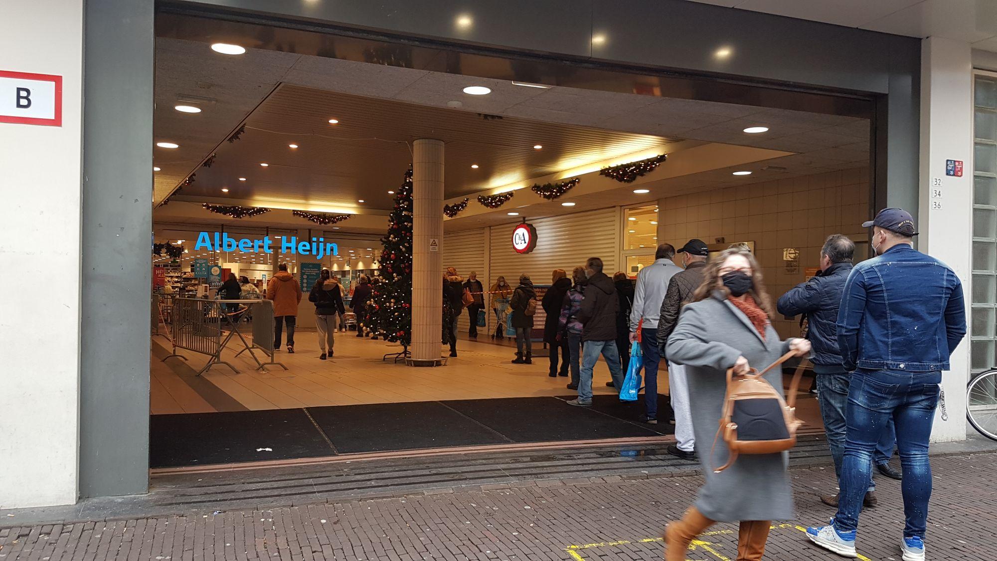 Albert Heijn Schiedam-Centrum dicht voor verbouwing