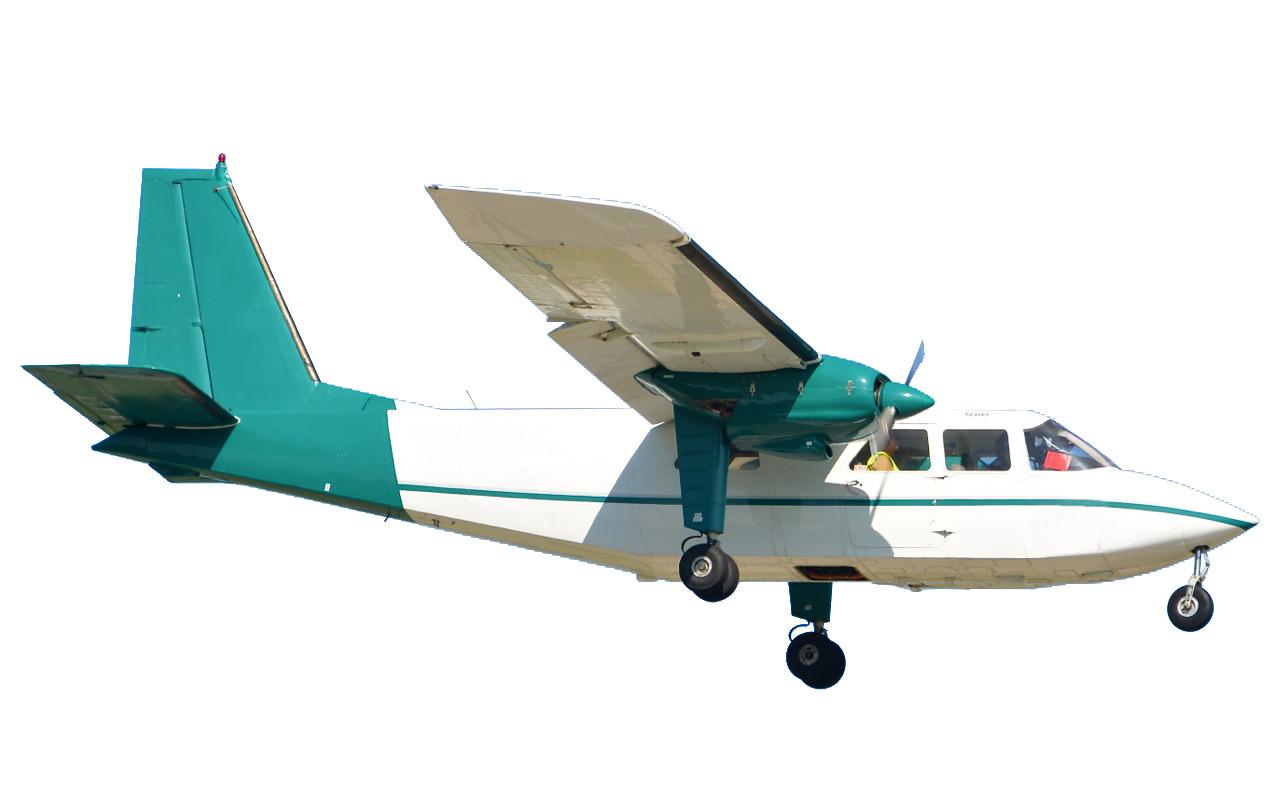 Vliegtuigje boven zuid; inspectie voor Eneco