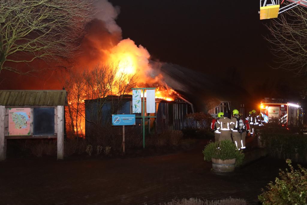 Grote Brand in Plaswijckpark