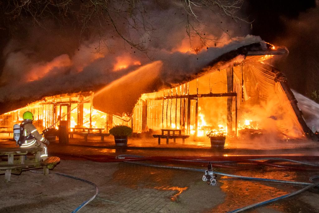 Aanhouding vanwege brand in Plaswijckpark