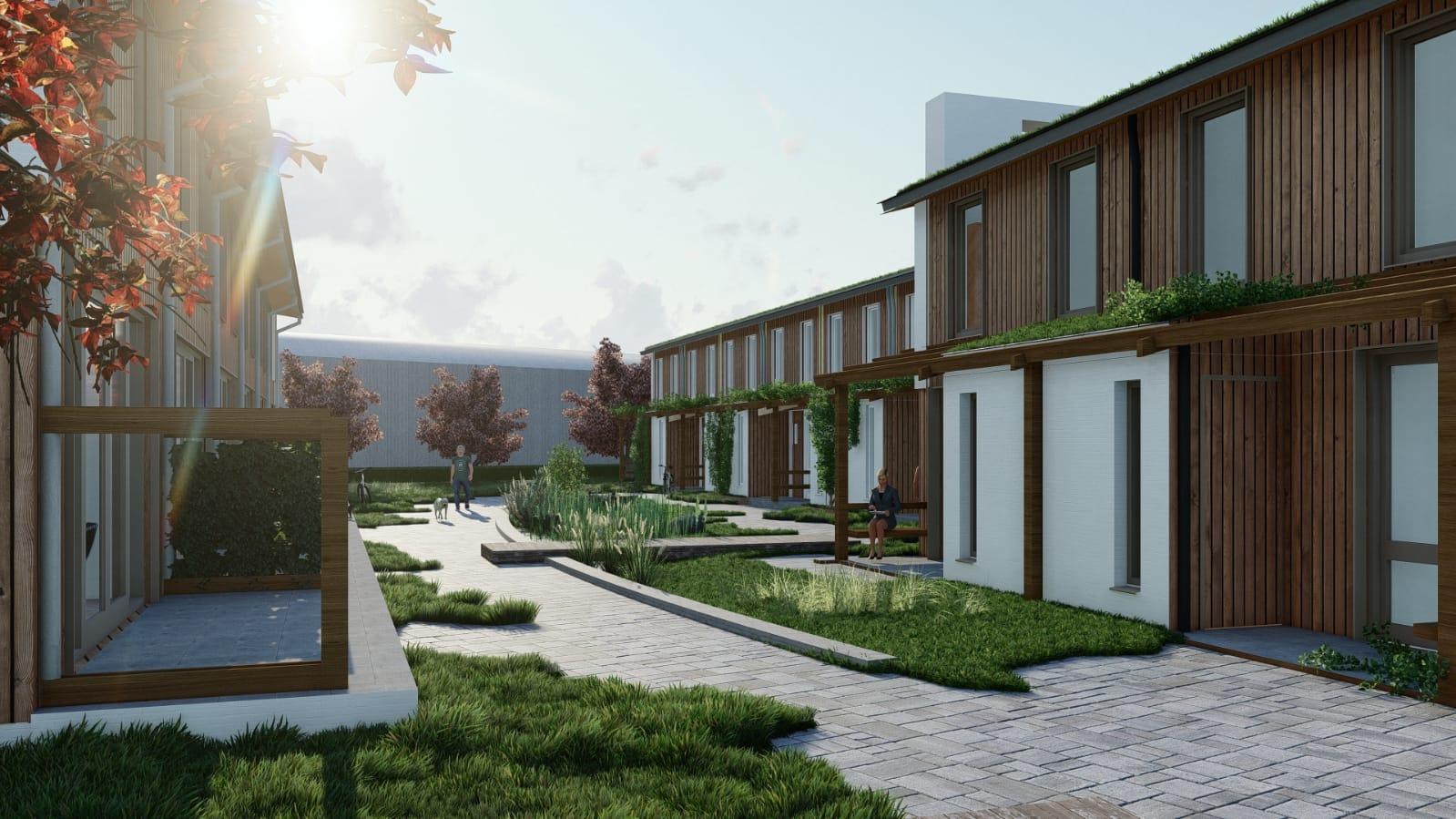 Nieuwbouw 18 seniorenwoningen op plek Martinusschool