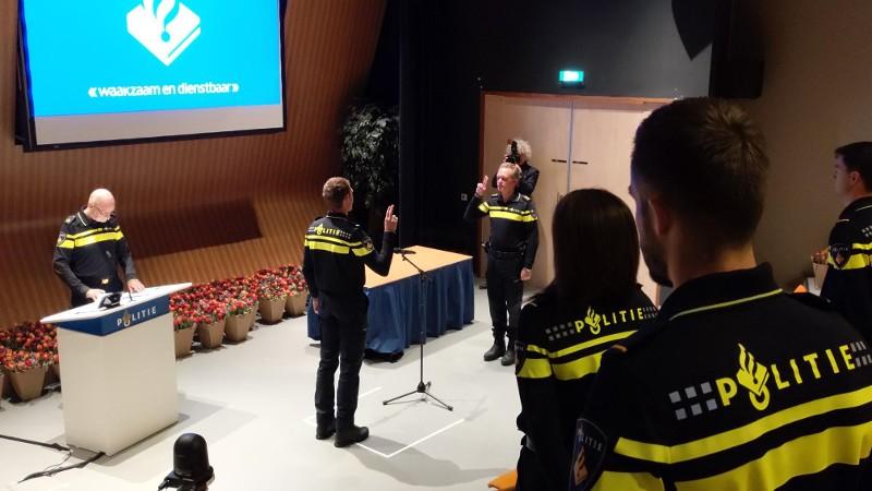 67 Nieuwe politiemensen voor Rotterdam en omgeving