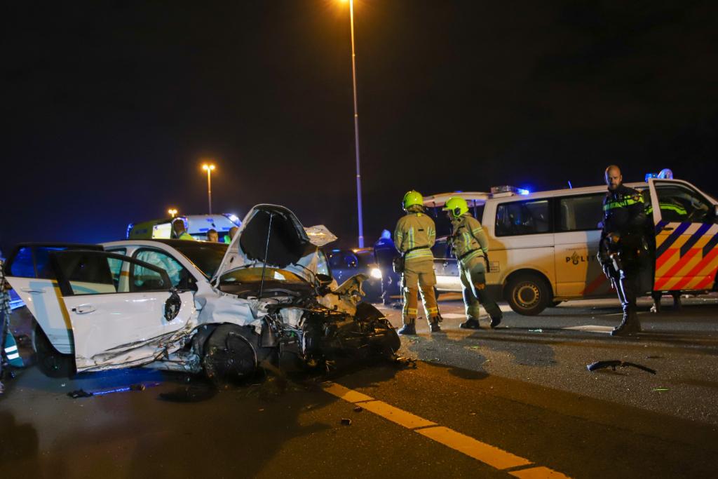 Dodelijk ongeval op A20