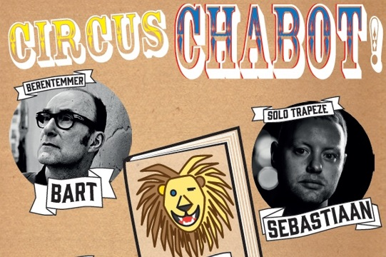 Gehele familie Chabot te gast in Literair Café
