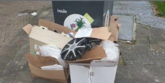 Boete voor dumpen van afval