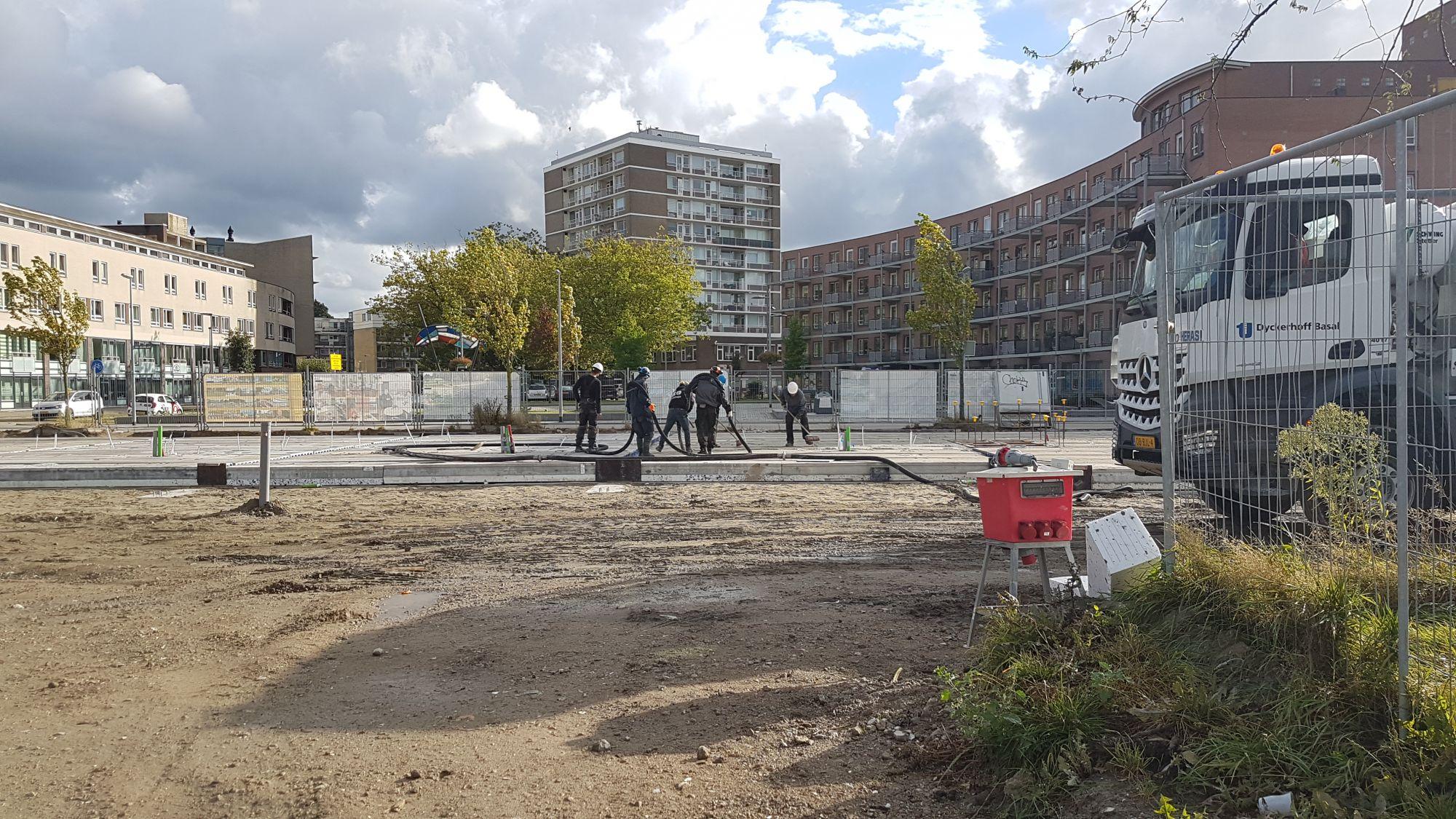 37 appartementen voorhoede grote bouwklus aan Parkweg