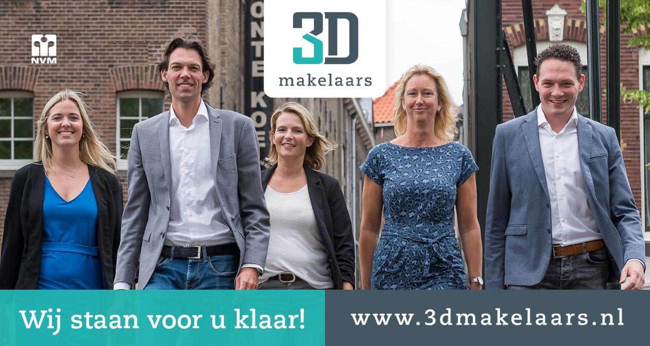 3D Makelaars komt gratis met u mee*
