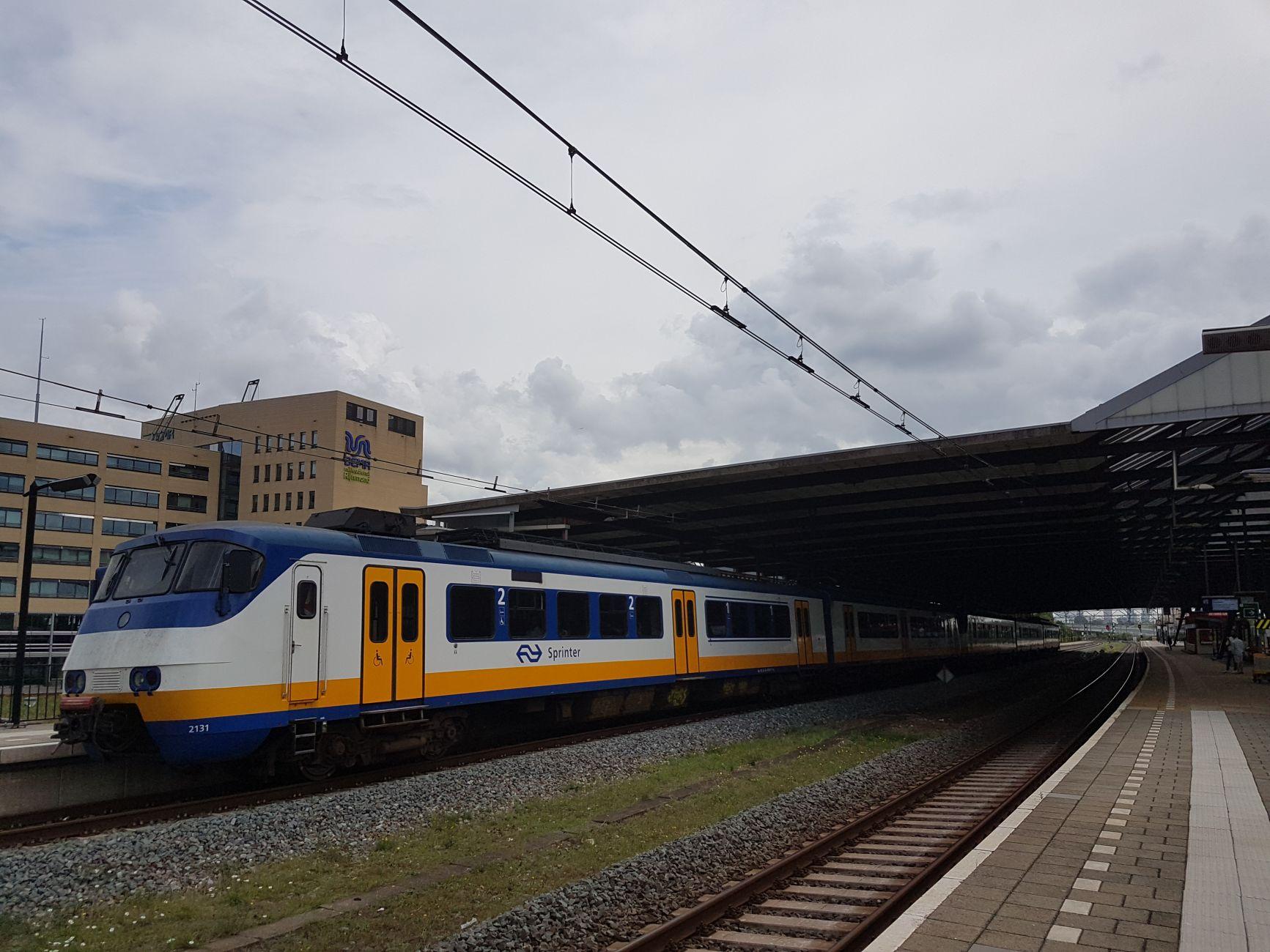 Treinenloop naar Den Haag onderbroken