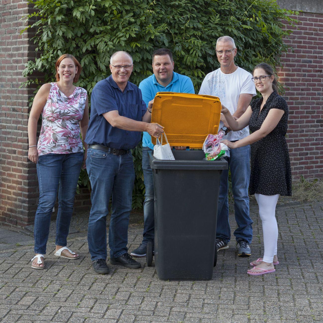 Zorgt thuis ophalen voor meer ingezameld plastic afval for Plastic verpakkingen