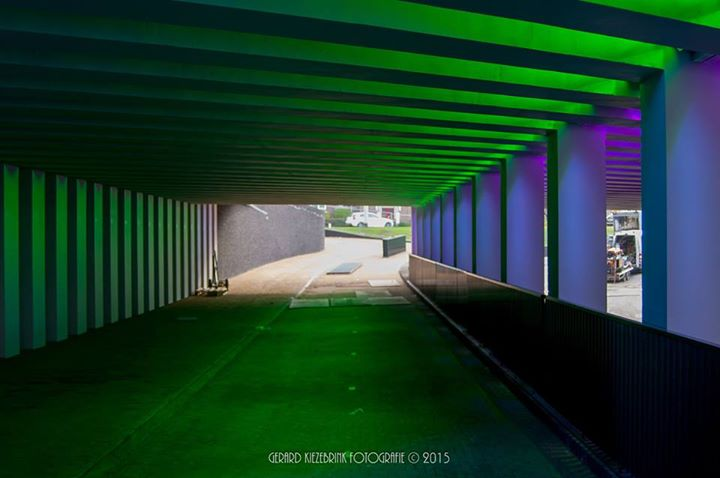 LED verlichting brengt sfeer in Marstunnel | Zutphen24