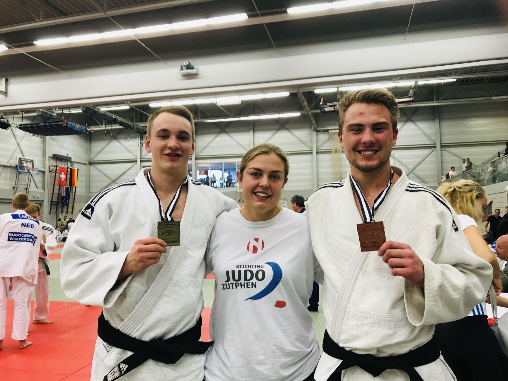 Judo Zutphen weer in de prijzen