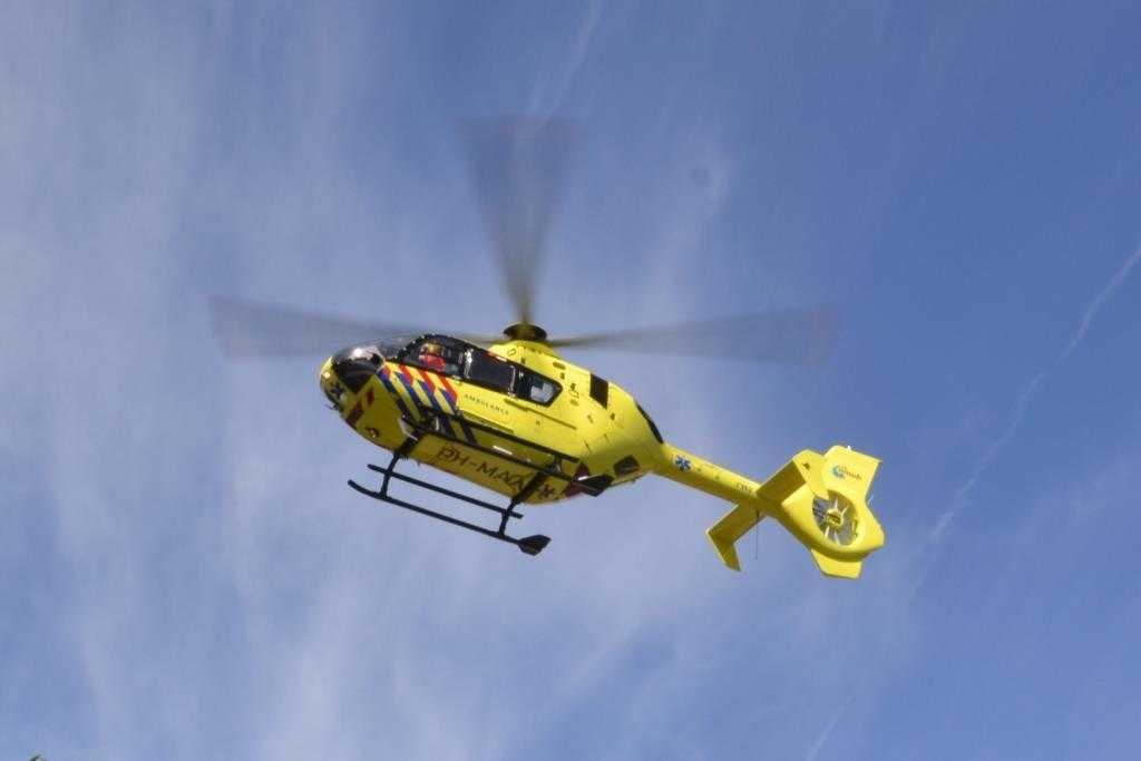 Traumahelikopter uiteindelijk niet nodig