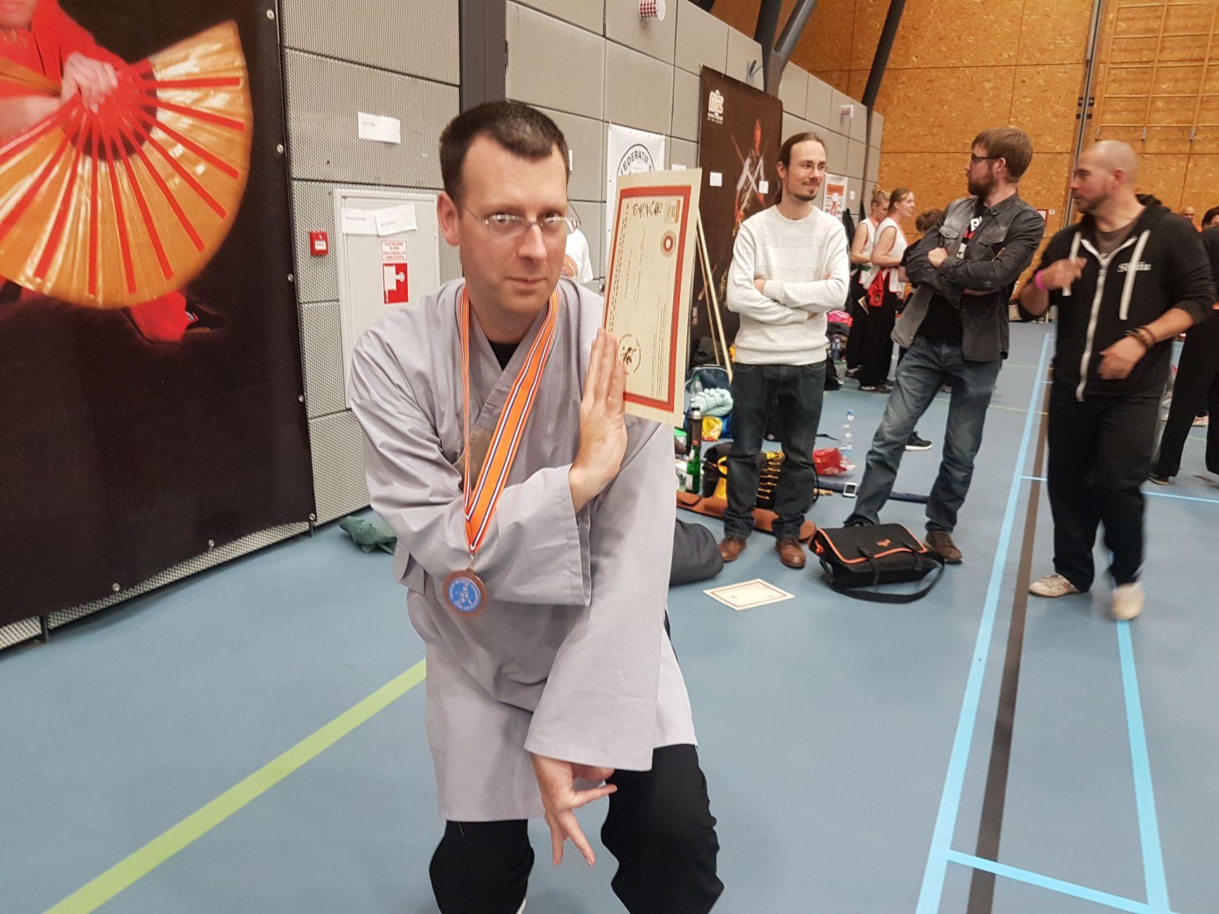 Vechtsporter Douwe ter Horst pakte Brons in Hoensbroek