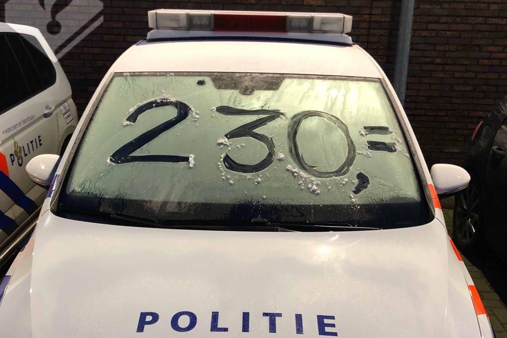 Tip van de politie