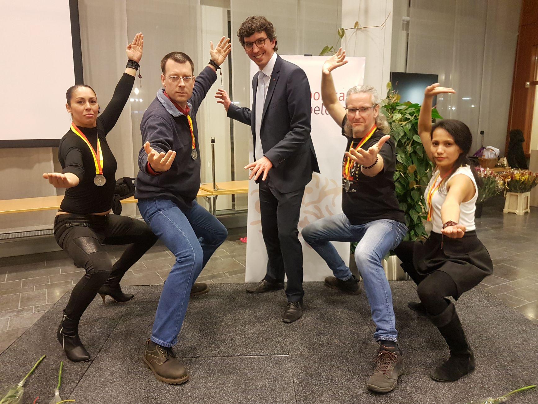 Zutphenaar Douwe ter Horst als vechtsporter gehuldigd