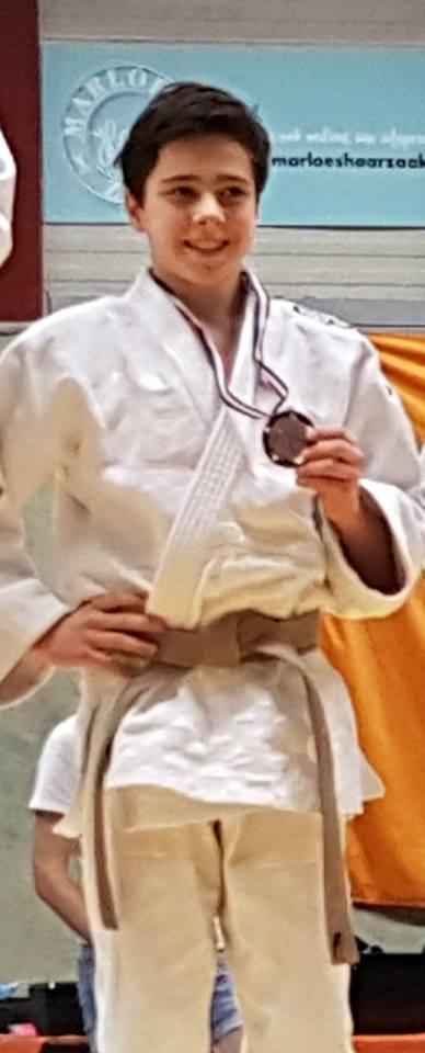 13-jarige judoka Pot doet mee met NK tot 18 jaar