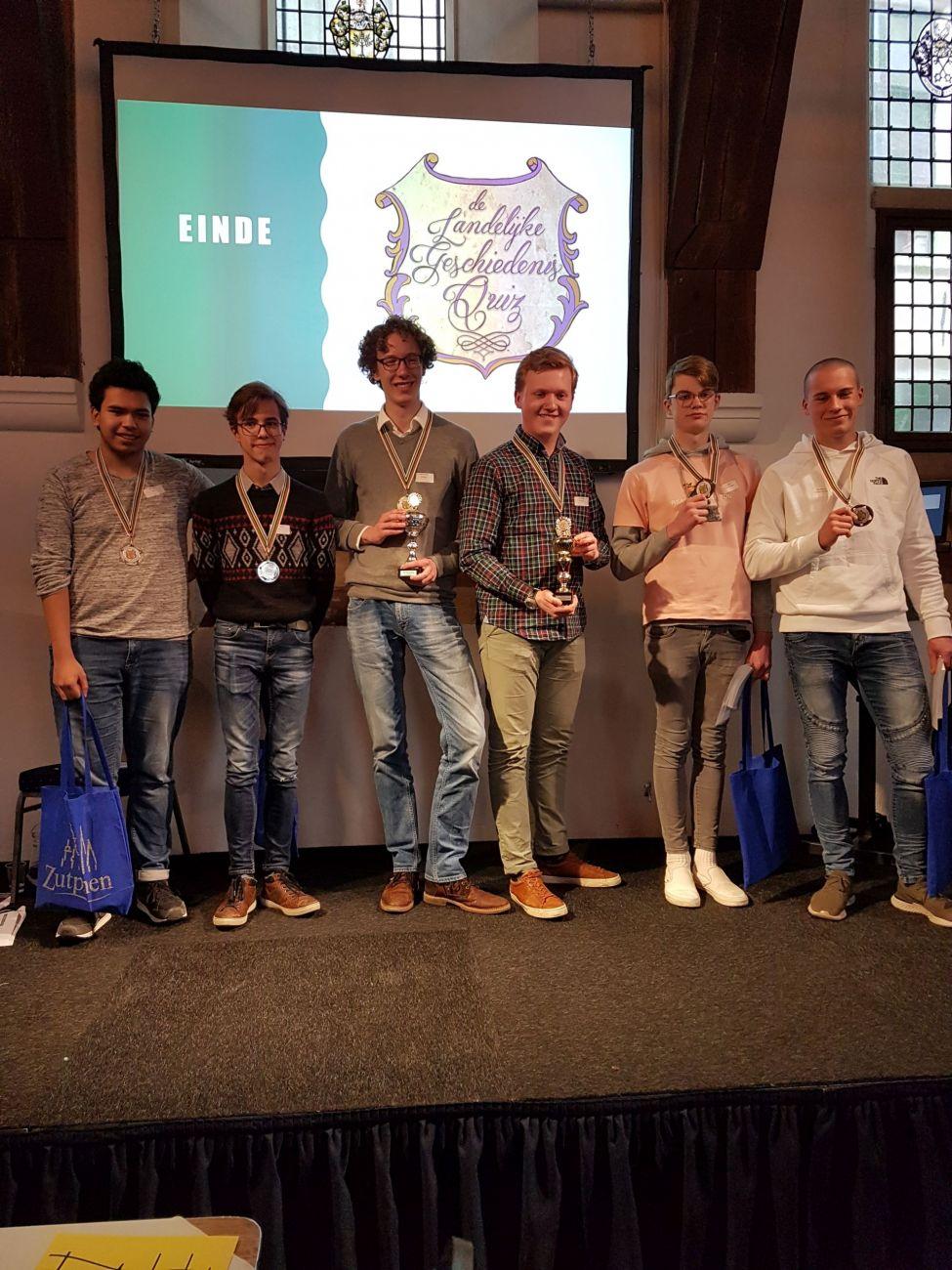 Scholieren uit hele land ontdekken Zutphen