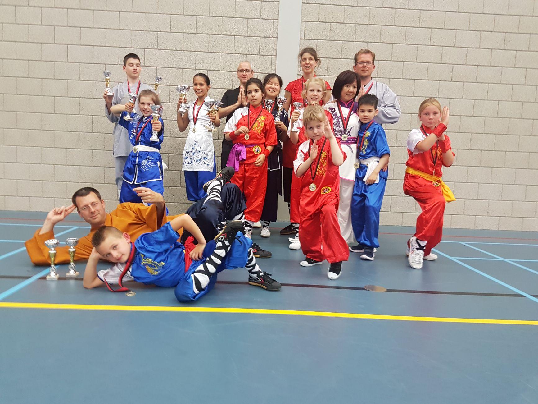 Winst: 2x Zilver voor Douwe ter Horst op Shaolin NK 2019
