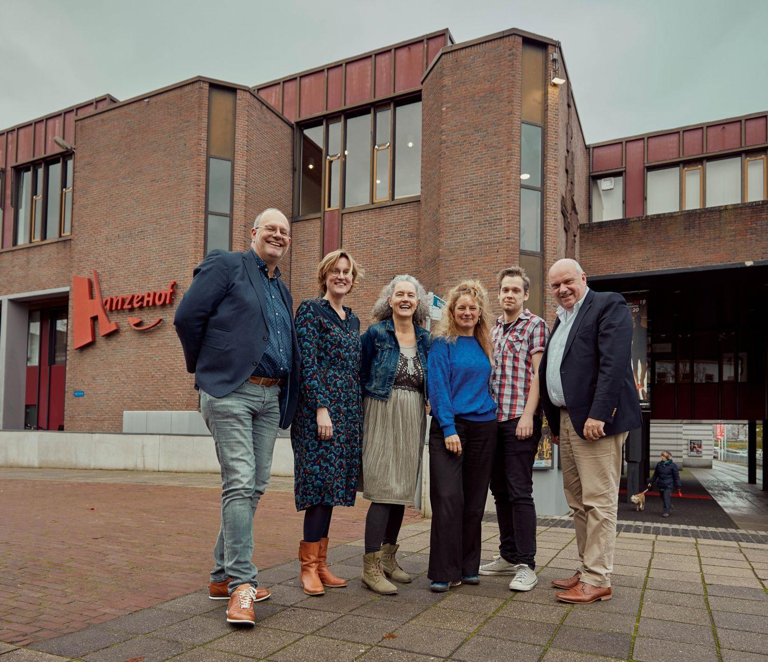 Hanzehof gaat gebouw delen