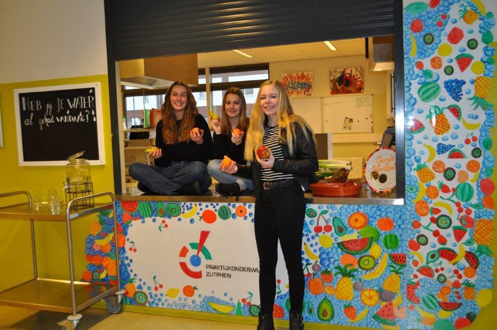 Praktijkonderwijs Zutphen is weer Gezonde School