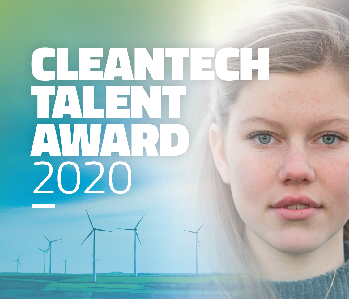 Finalisten Cleantech Talent Award 2020 bekend