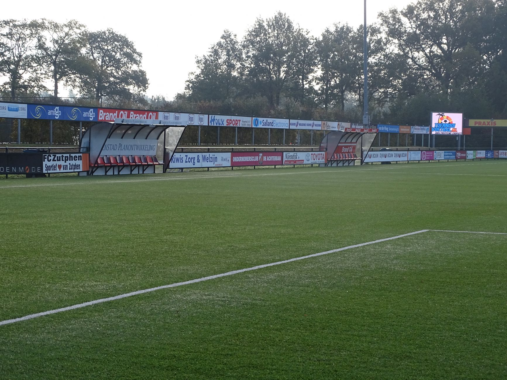 Zwaar bevochten 1-2 zege van FC Zutphen (zat.) bij SVI in Zwolle