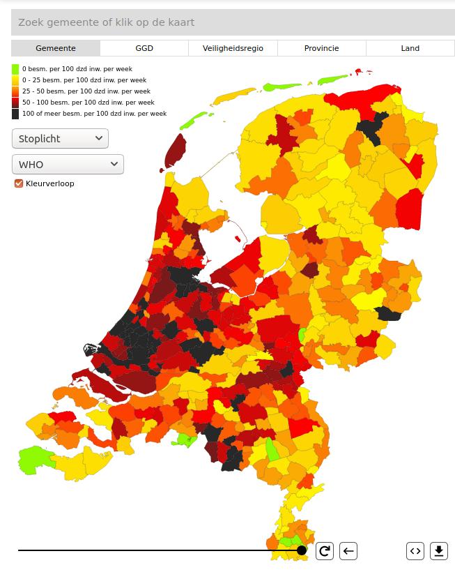 Schiedam Zwart Op De Kaart Met Zeventien Nieuwe Infecties Schiedam24