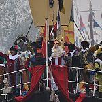 Ook roetveegpieten bij intocht Sinterklaas