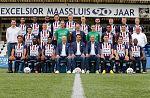 Excelsior Maassluis ontvangt VVSB