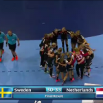 Spektakel tegen Zweden