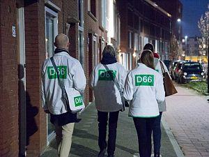 D66 actief met en voor bewoners