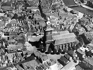Oude muren gevonden op de Markt in Vlaardingen
