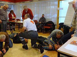EHBO/AED-cursussen bij het Rode Kruis