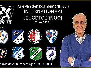 Eerste Arie van den Bos Internationaal Memorial Cup bij Zwaluwen