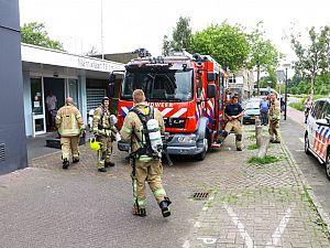 Brandweer rukt uit voor woningbrand