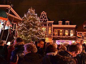 Winterse activiteiten in centrum Vlaardingen