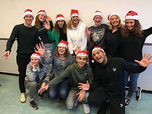 Leerlingen organiseren kerstmarkt op 't Groen