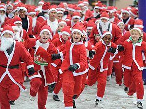 Vijfde Santa Run van Vlaardingen